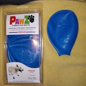 Pawz Rubber Dog Boots Medium